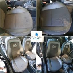 Lavagem a seco ! Bancos automotivos - teto carpetes- oxisanitização