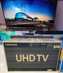Tv nova na caixa 50 polegadas 4k Smart completa aceito cartão ou pix