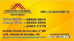 Título do anúncio: Carlos Mazola Reformas