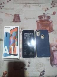 Samsung A11 zerado.