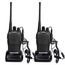 Kit radio comunicador baofeng