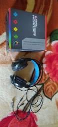 Headset gamer ( fone gamer ) para PC