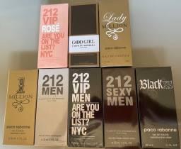 Título do anúncio: Perfume 212,1 million,black cs, good girl,lady million