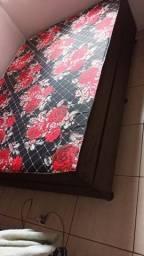 Cama box casal densidade 33 e 5cm colchão