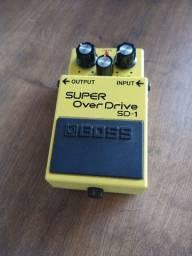 Pedal de Guitarra Super Overdrive SD-1Boss