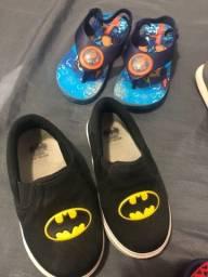 Título do anúncio: Sapatos chinelos e sandálias - Menino