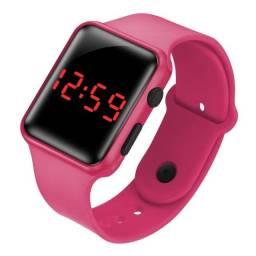 Título do anúncio: Relógio LED Rosa