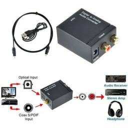 Conversor de áudio digital para analogico optico