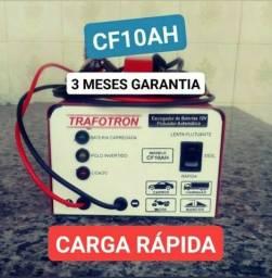Título do anúncio: ( Carro-Moto-Caminhão ) Carregador de Bateria Automotivo 12v-Bivolt 127/220-CF-10ah.