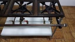 Título do anúncio: fogão industrial 6 bocas industrial