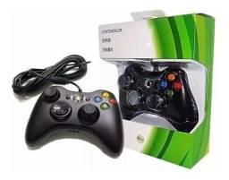 Controle X box 360 com fio