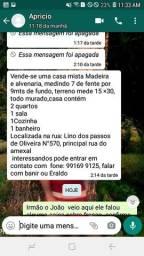 VENDO CASA EM FERREIRA GOMES