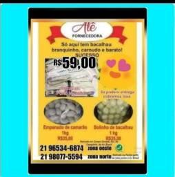Título do anúncio: Bacalhau Imperial branquinho carnudo e barato apenas R$59,00 o kg
