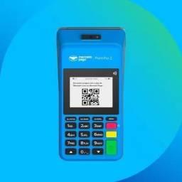 Título do anúncio: Máquina de Cartão Point Pro 2 - Imprime Comprovante - Aceita pagamento por Aproximação NFC