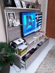 Estante Home Theater c/ duas gavetas