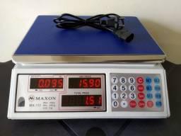 Balança eletrônica digital. 40 kg. Nova na caixa. Whatsapp. *