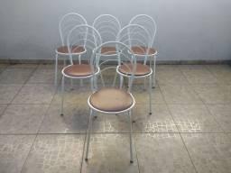 Jogo de 6 cadeiras