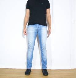 Título do anúncio: Calça Jeans Individual azul claro