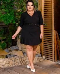 Macaquinho Vestido Plus Size / Moda Plus Size