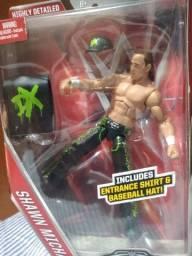 Bonecos figuras de ação da WWE novos e raros