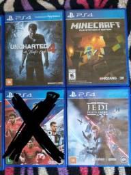 Jogos PS4 seminovos