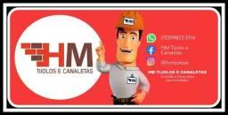 Título do anúncio: HM TIJOLOS E CANALETAS