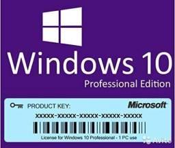 Licença permanente windows 10 pro