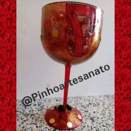 Taça decoradas