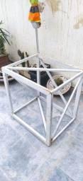 Estrutura de metalon reforçada