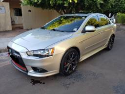 Lancer GT 2.0 automático, teto solar, 9 air bags, Central Multimídia