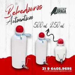 Título do anúncio: Bebedouro Automático tipo Garrafinha - 500ml - 250ml