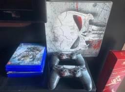 Título do anúncio: PlayStation 4 Slim personalizado