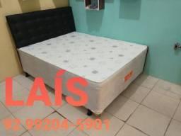 Cama Casal Box Sultão Ganhe dois travesseiros