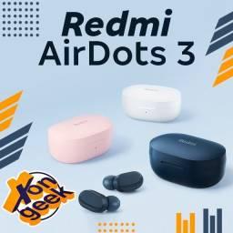 Título do anúncio: Fone Bluetooth Redmi Airdots 3 -Lacrado com garantia | Em até 12 vezes!