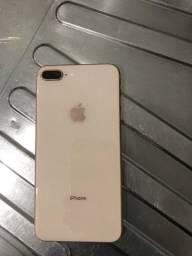 Título do anúncio: iPhone 8 Plus gold 256GB