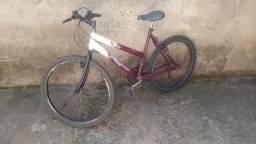 Vende bike aro 26 adulto R$ 300,00