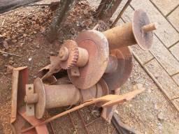 Catracas de cabo de Aço