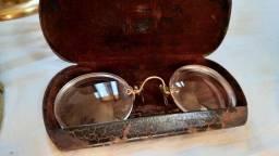 Lote antiguidades oculos antigo bronze punhal canivete moeda prata centenário 1822