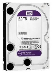 HD WD Purple Surveillance, 2TB, 3.5´, SATA