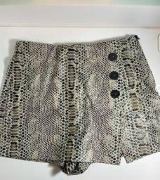 Título do anúncio: Shorts saia Zara