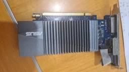 Título do anúncio: Placa de Video Asus Geforce GT 710 1gb Gddr5 Dvi/hdmi/vga - Gt710-sl-1gd5
