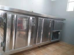 Balcao refrigerado, cilindro, armário