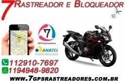 Título do anúncio: Rastreador com Bloqueador para Motos'