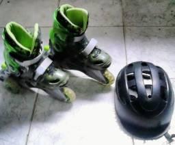 Patins com capacete N°29