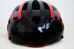 Capacete de ciclismo (bicicleta road / mountain bike)