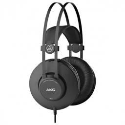fone de ouvido profissional preto
