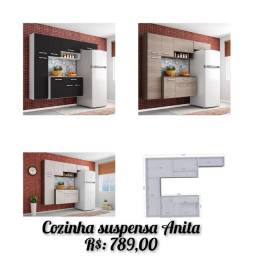 Cozinha  suspensa Anita