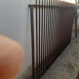 Portão 12M Ferro Galvanizado