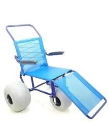 Cadeira de rodas para praia e piscina - Ortobras IPANEMA