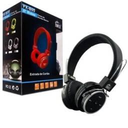 Fone Bluetooth Headphone Stereo Radio Fm Micro Sd Usb B-05
